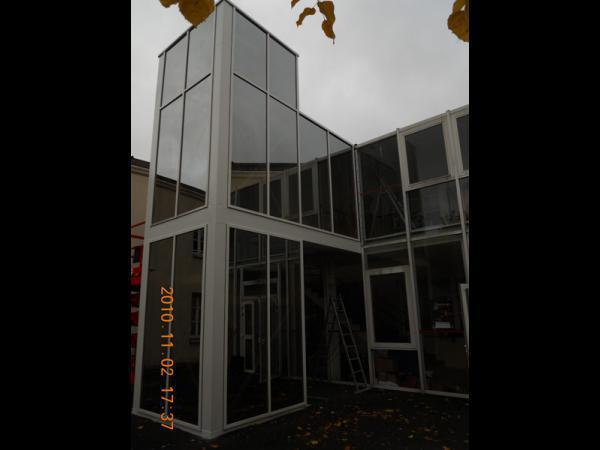 Cage ascenceur